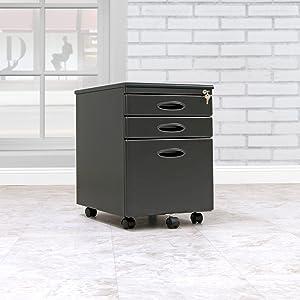 Assembled File Cabinet