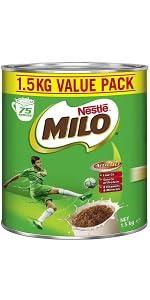 MILO MALT CHOC POWDER DRINK CHOCOLATE FLAVOUR WITH MILK