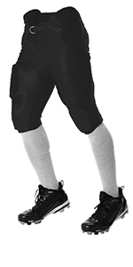 adult integrated pro style football pants