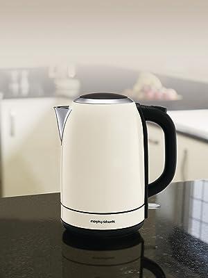 morphy richards cream 1.7L jug kettle