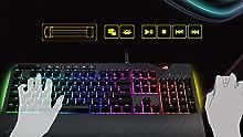ROG Strix Flare Mechanical Gaming Keyboard Media Keys