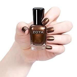 Amazon.com: ZOYA Nail Polish, Cinnamon, 0.5 Fluid Ounce: Luxury Beauty