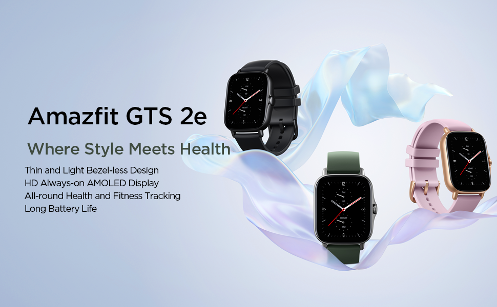 Amazfit GTS 2e Smart Watch with Long Battery Life