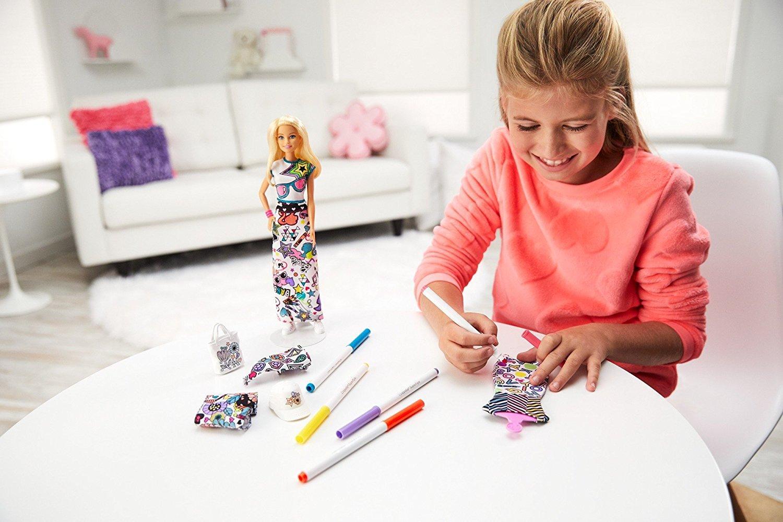 Barbie Diy Crayola Color In Fashion Playsets Amazon Canada