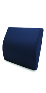 Lumbar support travel cushion