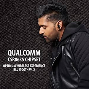 qualcomm, chipset, csr. bluetooth v4.2, wireless, experience