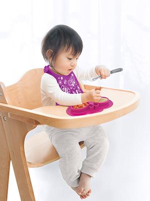 Azure//Pebble Kushies Baby Silifeed Silicone Spoons