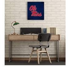 Mississippi Rebels Pallet Pride Collage Logo Plaque