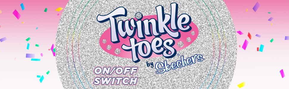 Twinkle Toes on-off light up