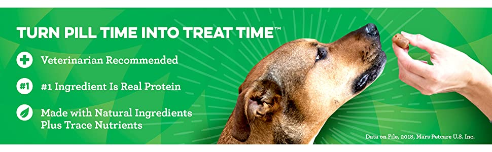 Veterinarian Recommended #1 Ingredient Is Real Protein, greenies dog treats, natural ingredients