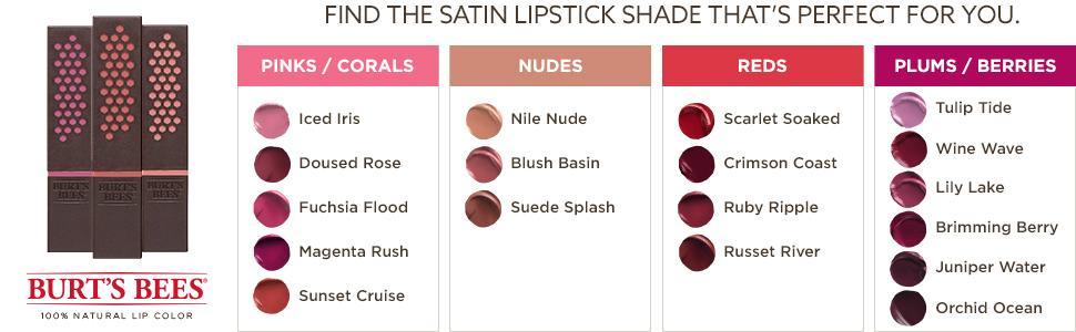 matte lipstick;glossy lipstick;natural lip makeup;shades;palette;moisturizing;full lips;long lasting