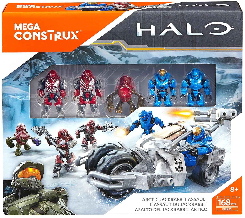 Amazon Com Mega Construx Halo Arctic Jackrabbit Assault