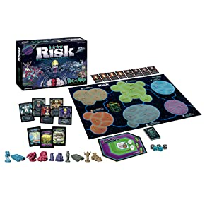 Risk: Rick and Morty board game