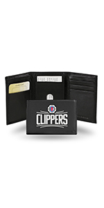 wallet,mens wallet,wallet for women,wallet for men,leather wallet,NBA, Los Angeles Clippers,Clippers