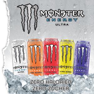 Ultra,Monster,White,Red,Sunrise,Citron,Violet