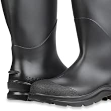 "Servus Comfort Technology 14"" PVC Steel Toe Men's Work Boots, PVC Boots, durable work boots"