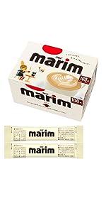 マリーム、スティックミルク、コーヒークリーム