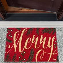 rugs boot tray mats outside hanukkah decorations for entryway floor front face snow amazon porch