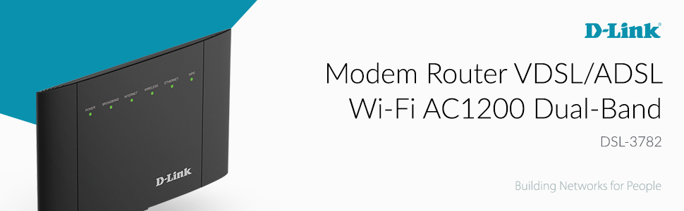 Modem Router VDSL/ADSL Wi‑Fi AC1200 Dual‑Band