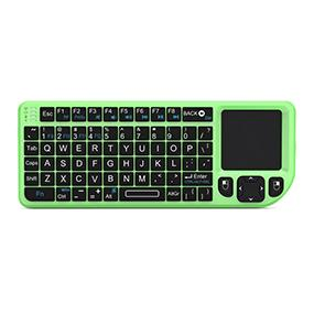 mini wireless mini handheld usb keyboard mouse touchpad combo trackpad multimedia remote control