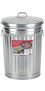 Amazon.com: Behrens RB20 bote de basura de 20 galones ...