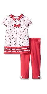 2-teiliges Set Mantel kariert formell lang/ärmelig Baby-Kleidungs-Set Rock