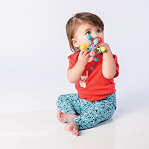 baby teether;baby rattle;one year old toys;infant toys 0 6 months;teethers for babies bpa free