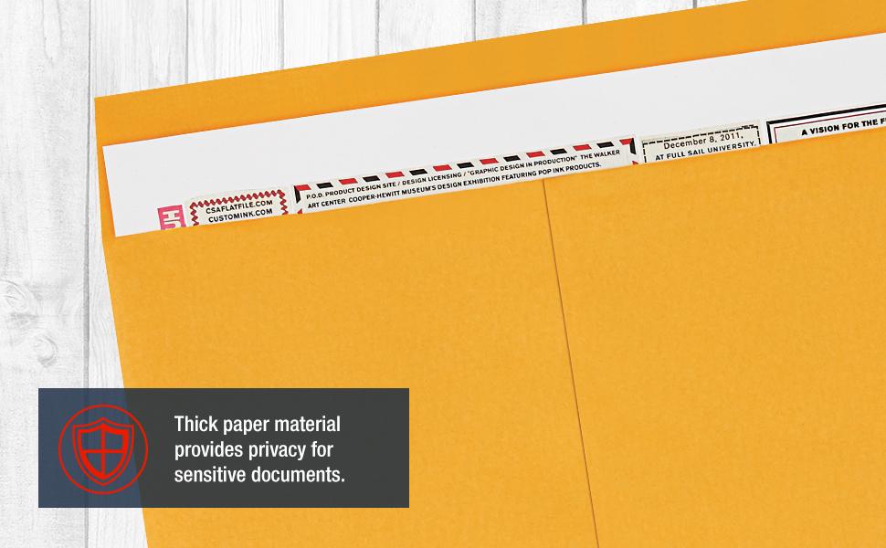 Jumbo Paper Envelopes