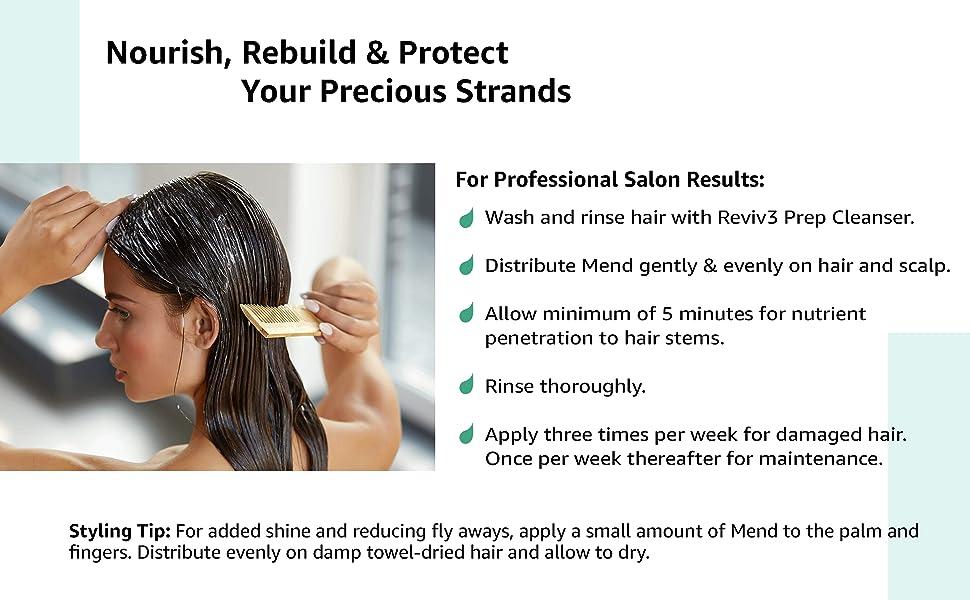 reviv3 mend hair masque product benefits