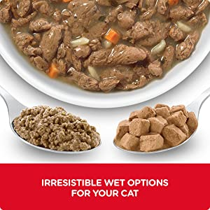 A variety of appetizing options From savory stews to mouthwatering chunks & gravy