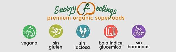 Energy Feelings Maca roja ecológica en polvo - 1 Kg