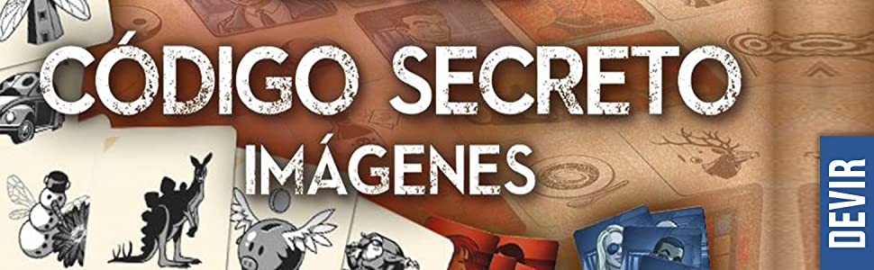 Devir - Código Secreto con imágenes, juego de mesa (BGCOSEIM): Amazon.es: Juguetes y juegos