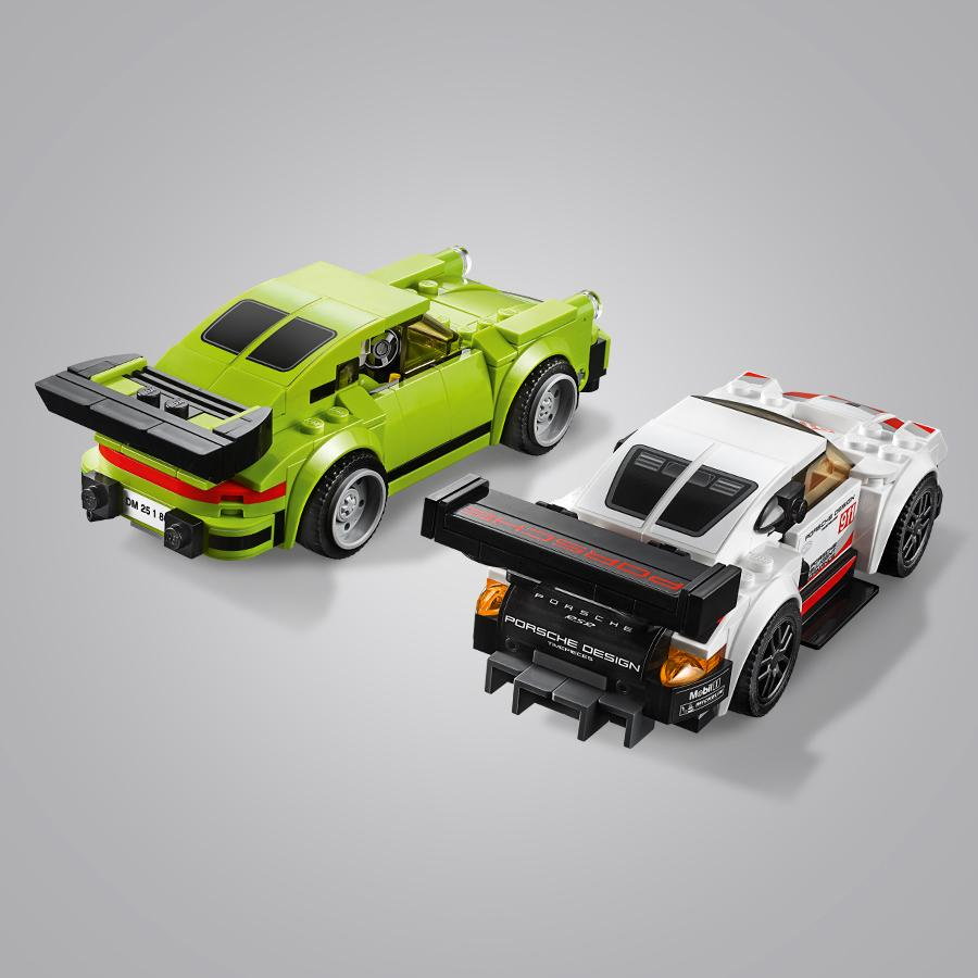 lego speed champions porsche rsr e 911 turbo 3 0 75888 giochi e giocattoli. Black Bedroom Furniture Sets. Home Design Ideas