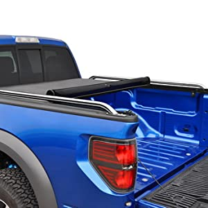 Toyota Tundra Bed Cover >> Tyger Auto T2 Low Profile Roll Up Truck Tonneau Cover Tg Bc2t2083 Works With 2007 2019 Toyota Tundra Fleetside 6 5 Bed For Models Without The