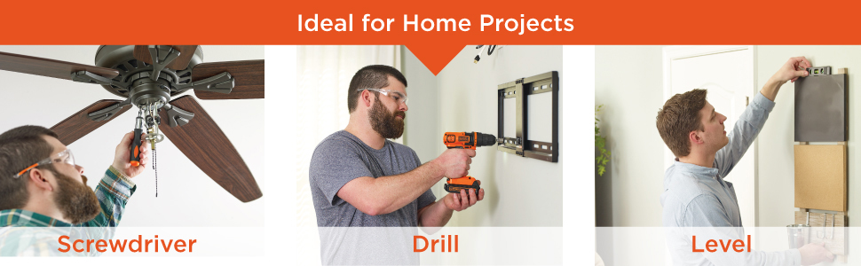 Ideal for Home Projects