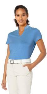 Fine Line Stripe Polo Shirt