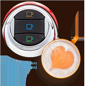 3 Corações - Cafeteira Modo TRES - Bebidas Cremosas