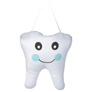 Lillian Rose Tooth Fairy Hanging Pillow, Blue