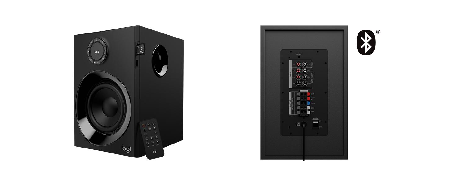 Logitech Z607 51 Surround Sound Speakers Bluetooth Rca 160 W Home Theater 5 Speaker Wiring Diagram Also 7 1