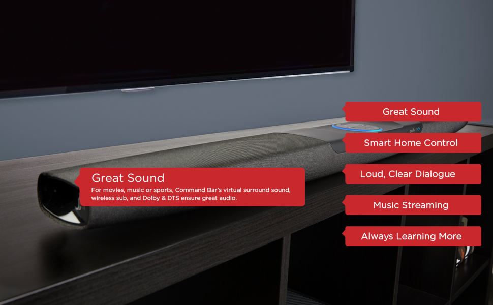 Command Bar - Great Sound