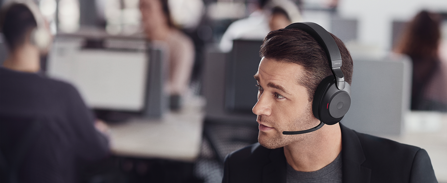 Advanced 10-microphone technology for 97% less background conversation noise on calls.