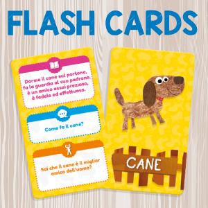 FLASH CARDS FATTORIA 72699 LISCIANI BABY PUZZLE