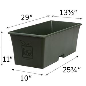 EarthBox Original Dimensions