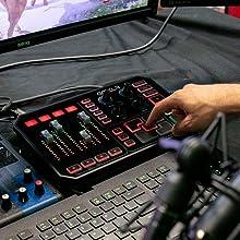 sampler, sound board, bumpers
