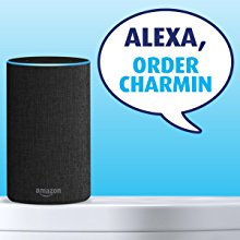 Use Amazon's Alexa to order Charmin on the go.