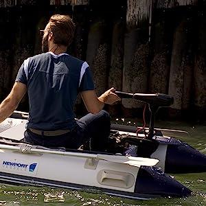 Newport Vessels electric trolling motor