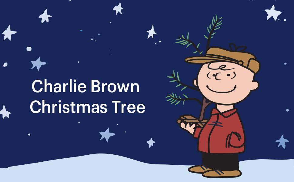 + FREE SHIPPING Charlie Brown Christmas Tree w// Linus Blue Blanket