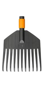Mango QuikFit 84 cm · Cuchillo raspador para terraza · Cultivador con 3 dientes · Azada doble · Sierra recta · Cepillo pequeño para hojas