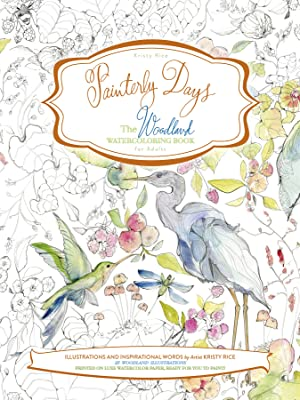 Painterly Days; The Woodland Watercoloring Book
