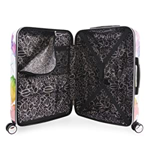 fee84a2cd Amazon.com | BEBE Women's Megan 3pc Suitcase Set with Spinner Wheels ...